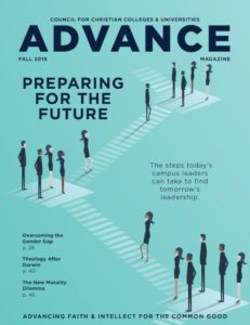 Advance Magazine Fall 2018 Cover