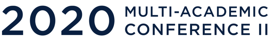 2020 Multi-Academic Conference 2 Logo